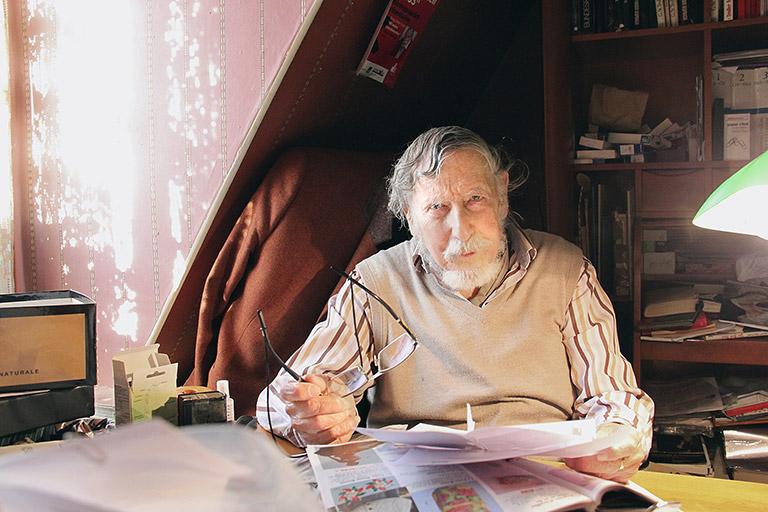 Georg Stefan Troller. | Foto: Viola Gräfenstein