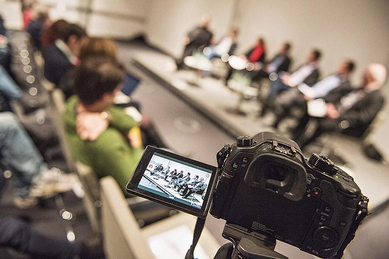 Medienpolitische Diskussion des DJV-NRW am 6. März in Düsseldorf