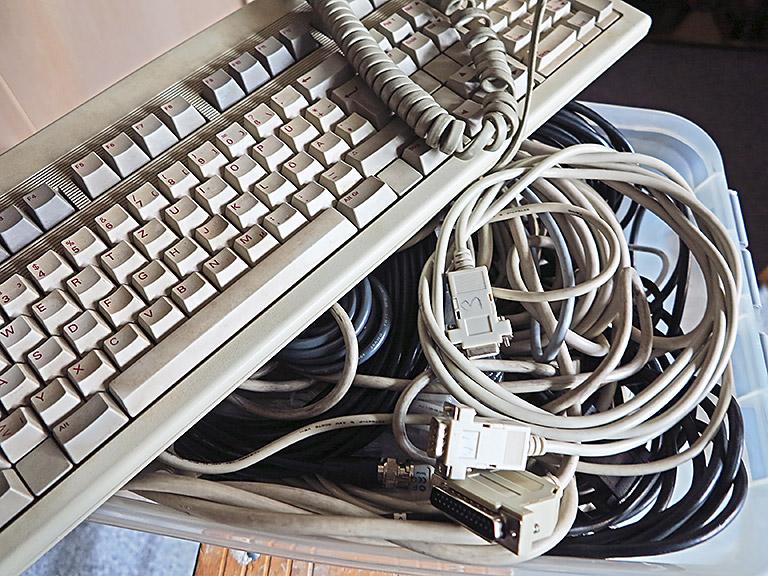 Technik veraltet, das dazu gehörige Wissen auch. Wer wüsste das besser als Kolleginnen und Kollegen, die schon mehrere Jahr-zehnte im Beruf sind. | Foto:txt