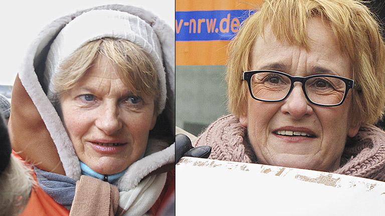 Für Barbara Mertens-Kemper als Betriebsrätin (r. oben) und Katrin Kroemer (r. unten) als betroffene Redakteurin war das mit einer tiefen Erschütterung verbunden.
